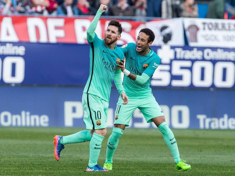 Lionel Messi traf zum 20. Mal in dieser Saison