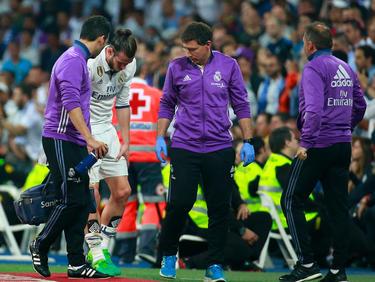 Gareth Bale fehlt Real Madrid womöglich bis Saisonende