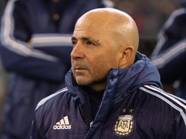 Jorge Sampaoli consiguió el reto de clasificar a Argentina. (Foto: Getty)