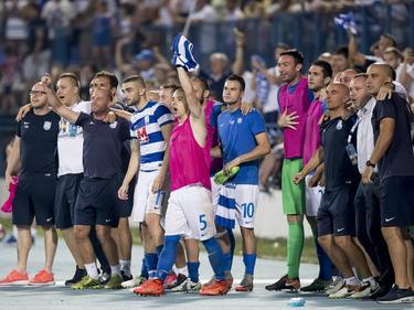 Nach dem Aufstieg gegen PSV fand Osijek auch in der Liga in die Siegerspur