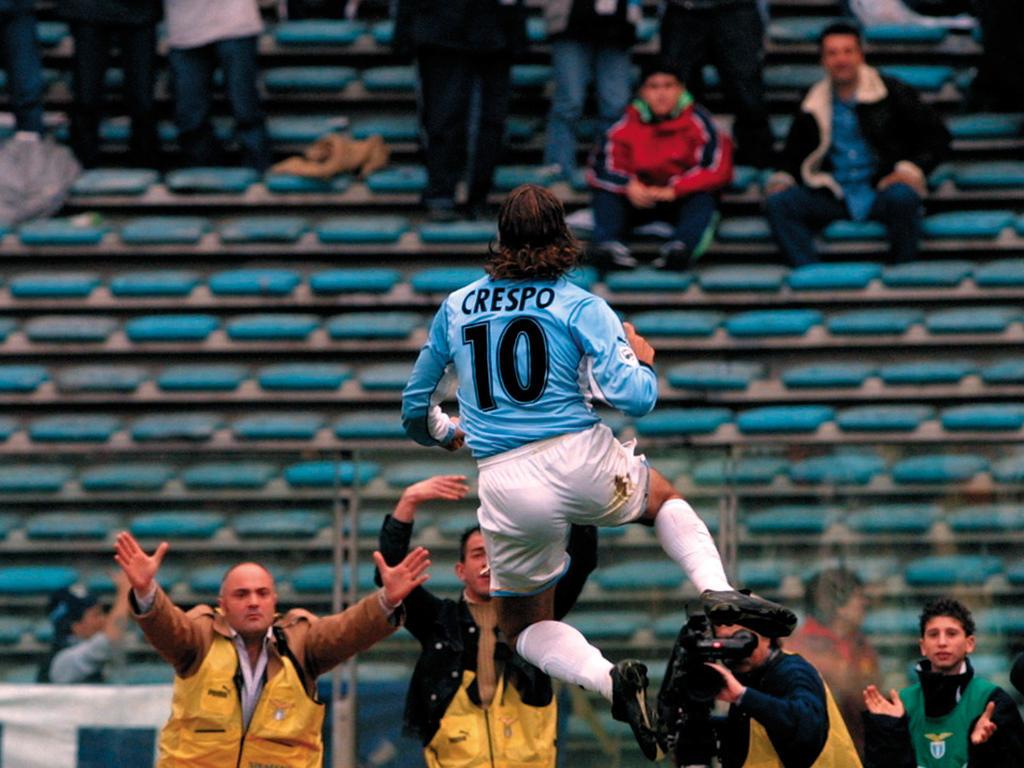 14. Platz: Hernán Crespo (Lazio Rom) - Gewinn: 51 Mio.