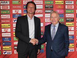 Neuer Sportdirektor und ÖFB-Präsident