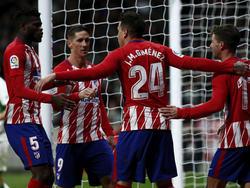 El Atlético de Madrid es claro favorito para alzarse con el título. (Foto: Getty)