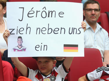 Jérôme Boateng erfuhr auch in Augsburg viel Zuspruch
