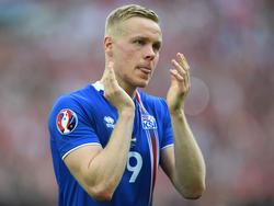 Kolbeinn Sigþórsson läuft bald gemeinsam mit Lukas Podolski auf
