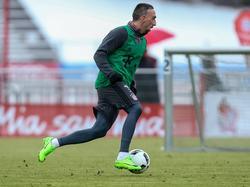 Franck Ribéry trainierte individuell für seine Rückkehr in den Bayern-Kader