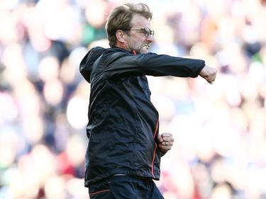 Jürgen Klopp durfte gegen Stoke dreimal jubeln