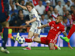 Luka Modrić kann die Schiedsrichter-Kritik des FC Bayern nur zum Teil nachvollziehen