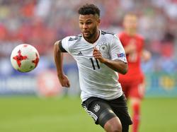 Serge Gnabry ist ab dem 1. Juli Spieler von Bayern München