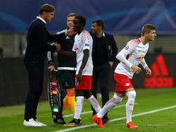 Brume (Mitte) droht gegen den FC Bayern auszufallen