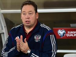 Russlands Trainer Leonid Slutskiy bekommt Unterstützung