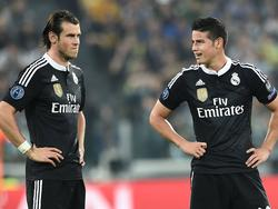 Bale (l.) und Rodríguez stehen ob des Brexit-Votings vor einer ungewissen Zukunft