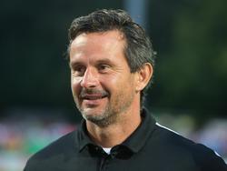 Dirk Schuster steht vor seinem Liga-Debüt für den FC Augsburg