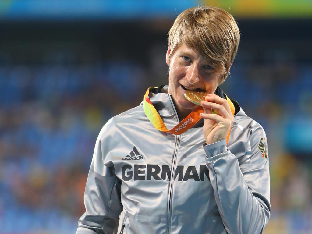 Franziska Liebhardt hat sich ihren Gold-Traum erfüllt