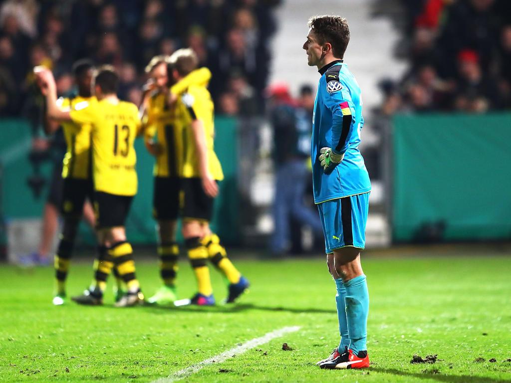 Der BVB feierte. Bei Lotte blieb die Enttäuschung