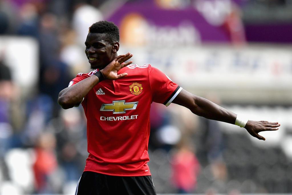 2. Platz: Paul Pogba (Manchester United) - Gewinn: 105 Mio.