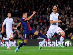 Alexis Sánchez ist beim 4:0 schneller als Mallorcas Abwehr