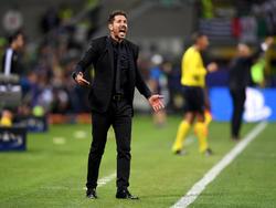 Diego Simeone muss seine Mannschaft schnell auf Kurs bringen