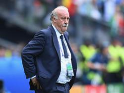 Trainerlegende Del Bosque erklärt seine Karriere für beendet