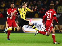 André Schürrle siegte mit dem BVB im Spitzenspiel gegen Bayern