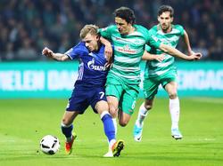 Bremen bangt um den Einsatz von Thomas Delaney (r.)
