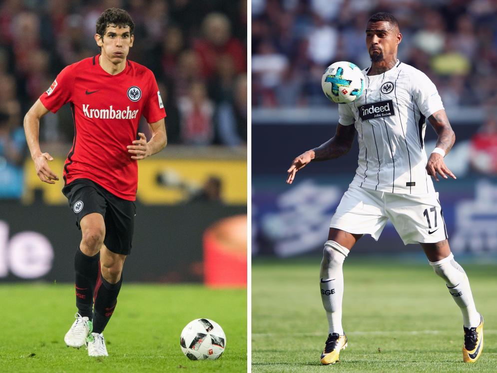 Eintracht Frankfurt: Top-Abgang: Vallejo; Top-Zugang: Kevin-Prince Boateng