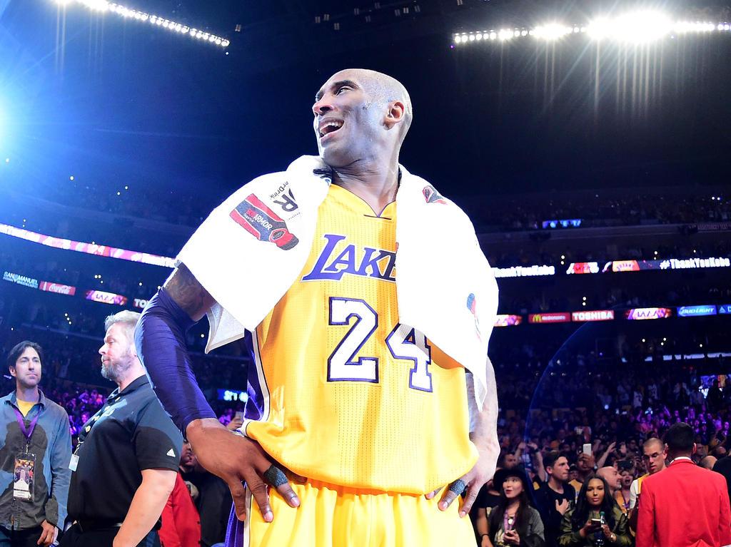Kobe Bryant: Noch einmal im ganz großen Rampenlicht