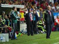 Spaniens Trainer Vicente Del Bosque bedauert die Absage des Testspiels