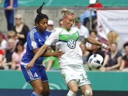 Alexandra Popp sieht ihr Team gegen den Favoriten Lyon keinesfalls chancenlos