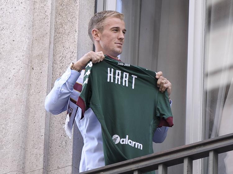 Joe Hart steht künftig in Turin im Tor