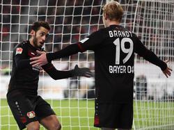 Leverkusen oben auf