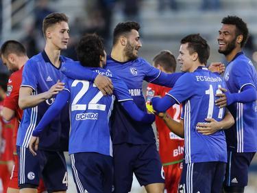 Der FC Schalke 04 hat einen Sieg im test gegen Oostende gefeiert
