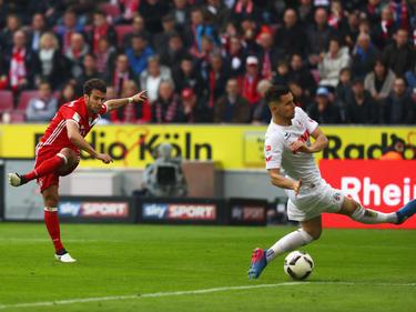 Juan Bernat (izq.) anotó el segundo de los bávaros. (Foto: Getty)