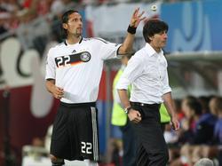 Kevin Kurányi (l.) hat Bundestrainer Joachim Löw kritisiert