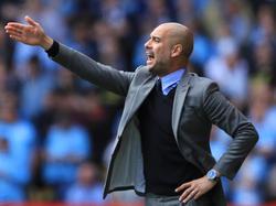 Pep Guardiola gibt in Manchester die Richtung vor