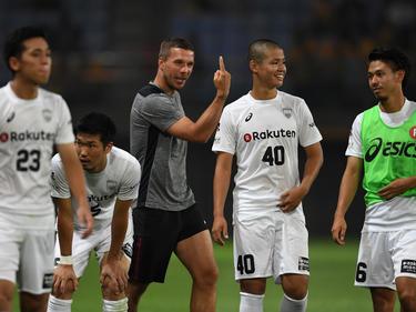 Lukas Podolski - das bekannteste Gesicht der japanischen Liga