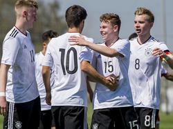 Die deutsche U17 feierte einen ungefährdeten Pflichtsieg