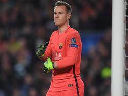 Marc-André ter Stegen will sich wohl bis 2022 an den FC Barcelona binden