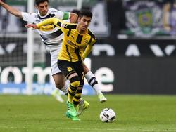 Mikel Merino bei einem seiner seltenen Einsätze im BVB-Dress