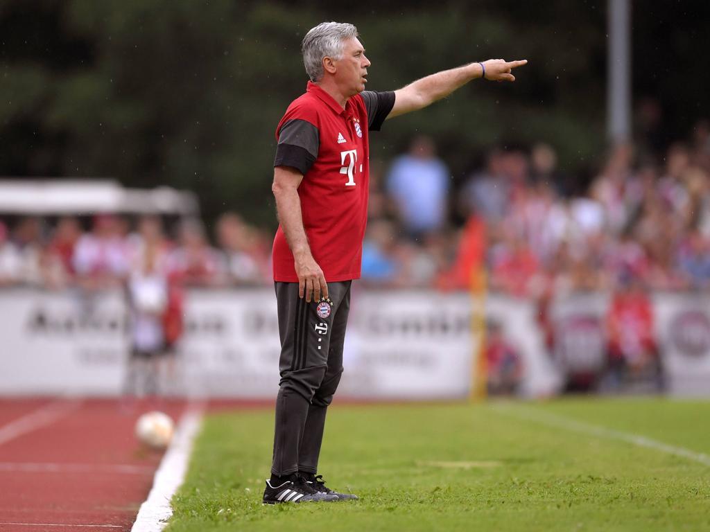 Carlo Ancelotti ist zum US-Auftakt gegen den AC Mailand gefordert