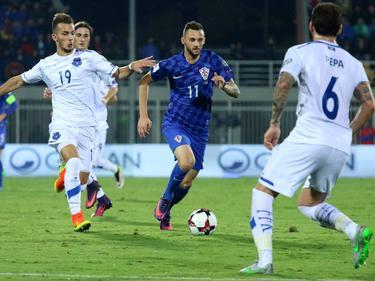 Der Kosovo sah gegen Kroatien kein Land