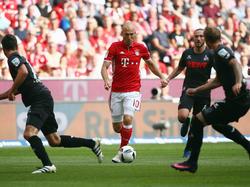 Arjen Robben würde gerne bei den Bayern bleiben