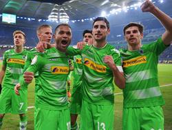 Die Gladbacher Borussen stehen im Pokal-Viertelfinale