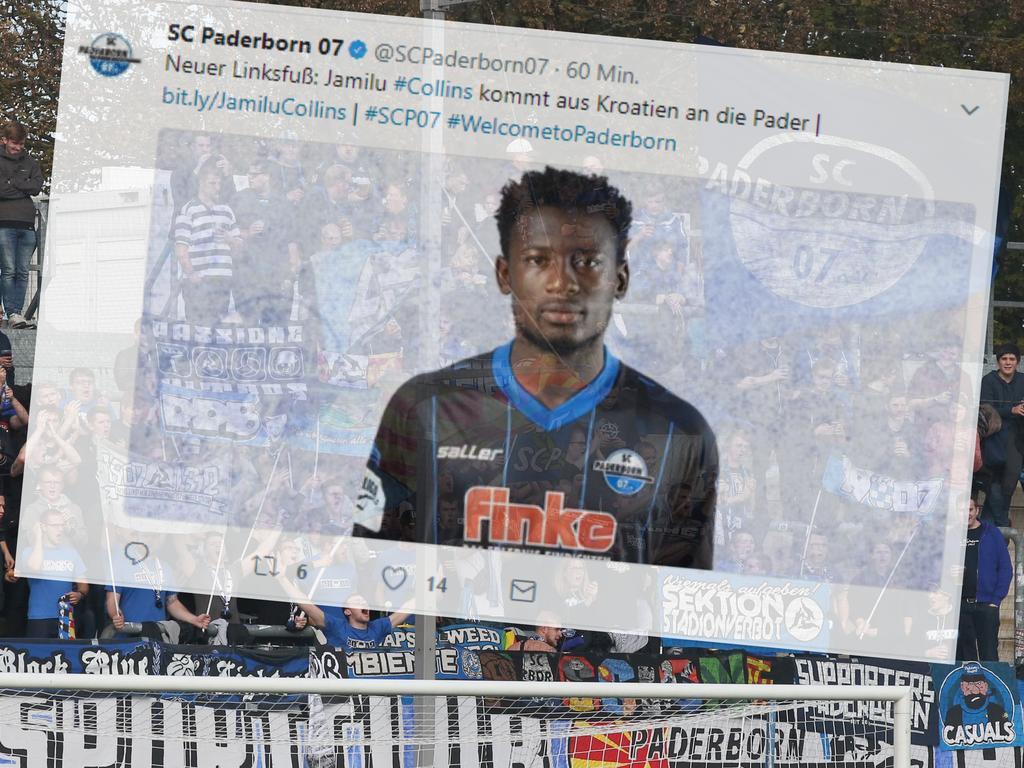 Jamilu Collins wechselt zum SC Paderborn