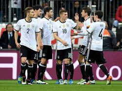 Abgerutscht: Die DFB-Elf ist in der Weltrangliste nur noch Fünfter