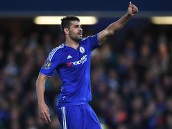 Diego Costa wird wohl auch künftig das Trikot der Blues tragen