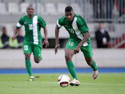 Kelechi Iheanacho traf gegen Sambia zum 2:0