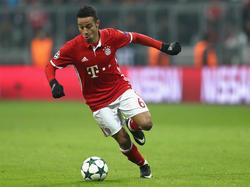 Nach seiner Verletzung am Oberschenkel rückt das Comeback von Thiago näher