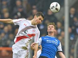 Arminia Bielefeld und der FC St. Pauli trennten sich mit 1:1