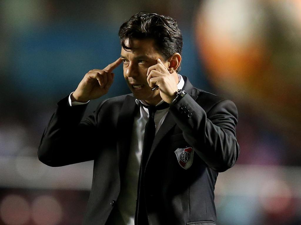 Victoria del equipo argentino que dirige Marcelo Gallardo. (Foto: Getty)